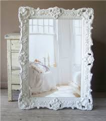 white baroque mirror large shabby chic mirror vintage 359 00