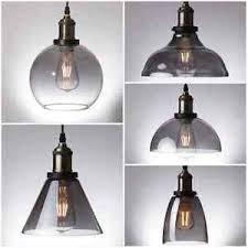 Pendant Light Uk Smoke Glass Pendant Light Antique Vintage Industrial Loft Ceiling