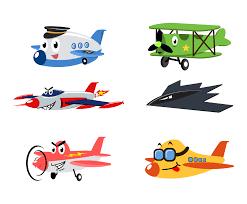 free cartoon airplane vector vector art u0026 graphics freevector com