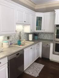 kitchen amazing peel and stick glass tile backsplash stick down