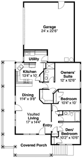 craftsman small house plans hahnow
