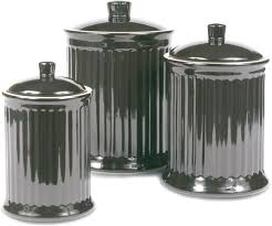 black and white kitchen canisters lovely black kitchen canisters omniware simsbury black