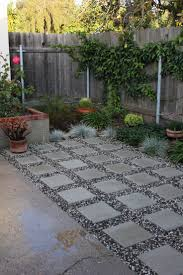 Pea Gravel And Epoxy Patio by Patio Ideas Pebble Best On Pinterest Landscaping Around Side Yards