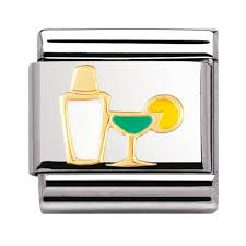 martini shaker clipart nomination classic cocktail shaker and glass charm charms from