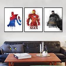 Superhero Home Decor Online Get Cheap Superhero Picture Aliexpress Com Alibaba Group