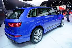 Audi Q7 Blue - detroit welcomes all new and much lighter 2016 audi q7