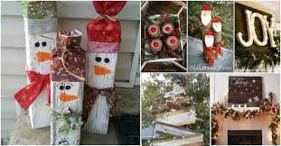 25 reclaimed wood christmas decorations to add rustic charm to