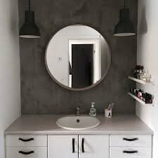 where to buy bathroom mirrors where to buy bathroom mirror with bathroom make over concrete look