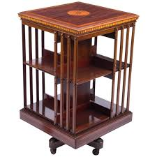Bookcase Maple Antique Edwardian Revolving Bookcase Maple And Co Circa 1900 At