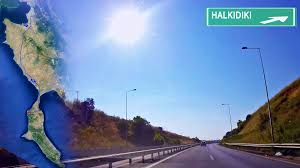 halkidiki greece road map thessaloniki sani resort time lapse