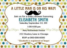 printable mustache little man baby shower invitation bee busy