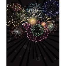 new years backdrop new year s fireworks printed backdrop backdrop express