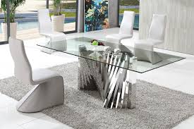 Small Glass Dining Room Tables Italian Glass Dining Room Tables Indiepretty