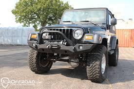 jeep aftermarket bumpers 97 06 jeep wrangler tj lj heavy duty aftermarket front winch