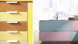 portes de placard de cuisine tendance on customise ses placards de cuisine
