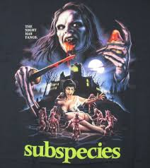 Vintage Halloween T Shirts New Fright Rags Subspecies Movie T Shirt 3xl Vampire Horror Thin