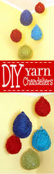 Chandelier Cleaner Recipe Diy Yarn Chandeliers The Gracious Wife