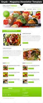 newsletter cuisine enyak newsletter by indiefreelancer graphicriver