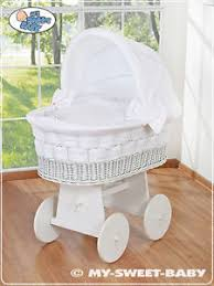 Wicker Crib Bedding New Baby Large Wicker Crib Moses Basket With Stand Bedding