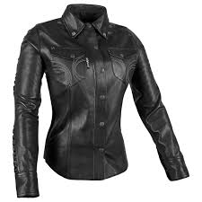 womens leather motorcycle jacket speed and strength women u0027s black heart leather shirt jafrum
