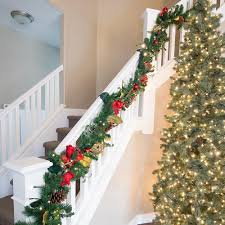 Garland Hangers For Banister Banister Saver Garland Ties Christmas World