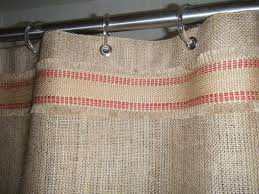 country style shower curtains matching curtain and valance burlap