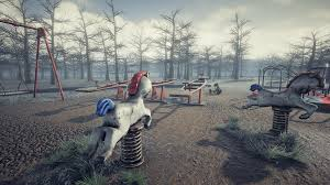 abandoned abandoned playground by erhan yilmaz in environments ue4 marketplace