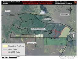 Wildfire Map National by Current Fire Activity Everglades National Park U S National