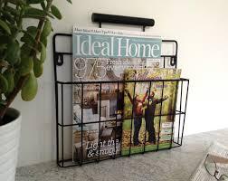 under sink storage tidy amazon co uk kitchen home black magazine rack newspaper holder wire post basket wall mounted