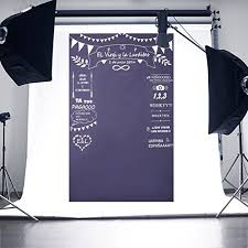 seamless backdrop scastoe wedding party custom blackboard photography backdrop photo