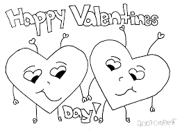 free valentines coloring pages book printable