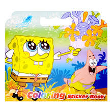 spongebob coloring book promotion shop promotional spongebob