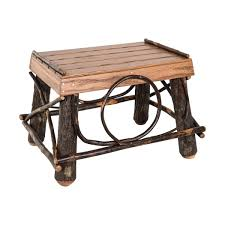 Amish End Tables by Amish Footstool Mast Store