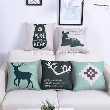 online buy wholesale burlap pillow covers from china burlap pillow