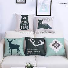 Burlap Decorative Pillows Online Buy Wholesale Burlap Pillow Covers From China Burlap Pillow