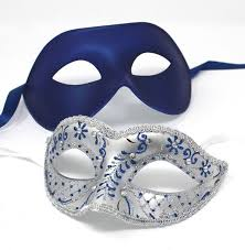 silver masks blue masquerade couples masks his and hers masks masks and tiaras