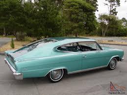 1966 rambler car amc rambler marlin