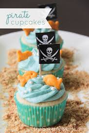the baker upstairs mermaids and pirates cupcakes