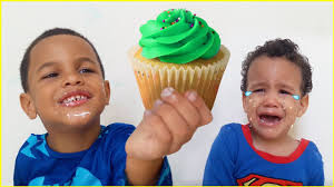 Learn To Decorate Cakes At Home Bad Babies Fighting At Home Bad Kid Steals Cupcake To Mad Cry