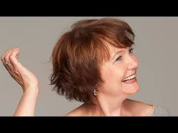 agerd hair styles look trendy even though in old age short hairstyles for older