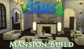 the sims 4 let u0027s build a mansion episode 3 livingroom sims4