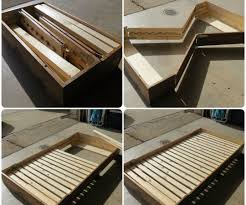 Box Bed Designs In Wood Bed In A Box 4 Steps With Pictures