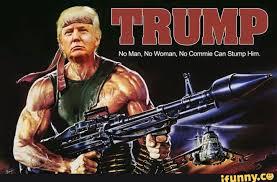 Rambo Meme - trump trump2016 rambo election trump pinterest life images