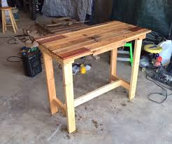Build A Wooden Table Top by Pallet Table 7 Steps With Pictures