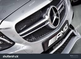 logo mercedes benz 2017 kuala lumpur malaysia october 2 2017 stock photo 726270904