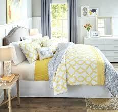 gray and yellow bedding sets bedroom fabulous yellow black grey