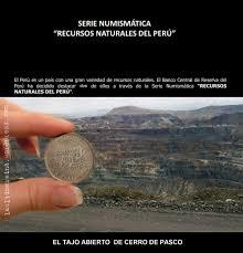 cerro de pasco noticias de cerro de pasco diario correo cerro de pasco en la serie numismática recursos naturales del perú