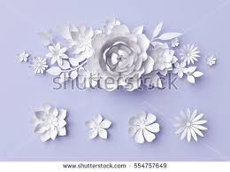 wedding wishes background 3d render digital illustration white paper stock illustration
