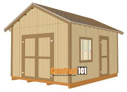 How To Build A 10x12 Shed Plans by Free Shed Plans With Drawings Material List Free Pdf Download