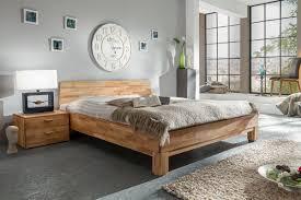 Schlafzimmer Bett 200x200 Schlafzimmer Betten Eiche Massive Naturmöbel